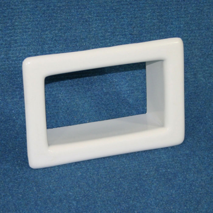 Internal Frame - Suit Small Scupper Vent (White PVC)