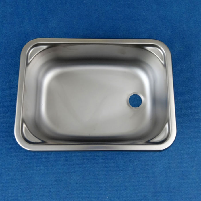Smev Stainless Steel Sink / Basin - 380 x 280mm - Inc. Waste & Plug