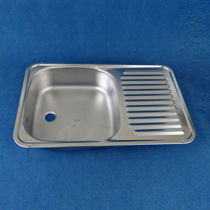 Stainless Steel Sink/Drainer, 590mm x 370mm, SMEV