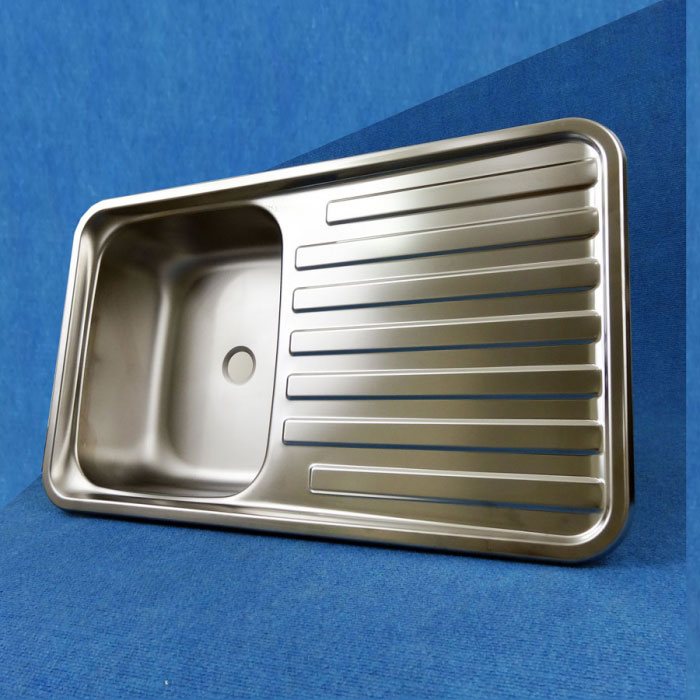 Stainless Steel Sink/Drainer, 650mm x 380mm, SMEV