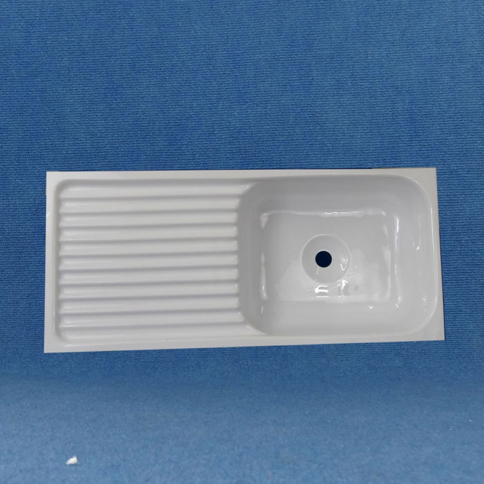 Acrylic Sink : White Acrylic Sink, 710 x 320mm