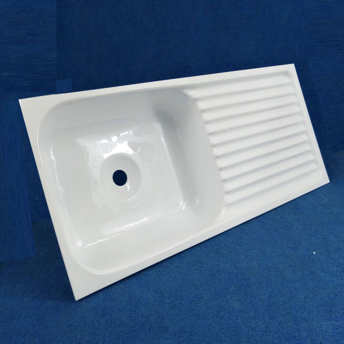 Caravansplus Sink Acrylic 710mm X 320mm White Sinks