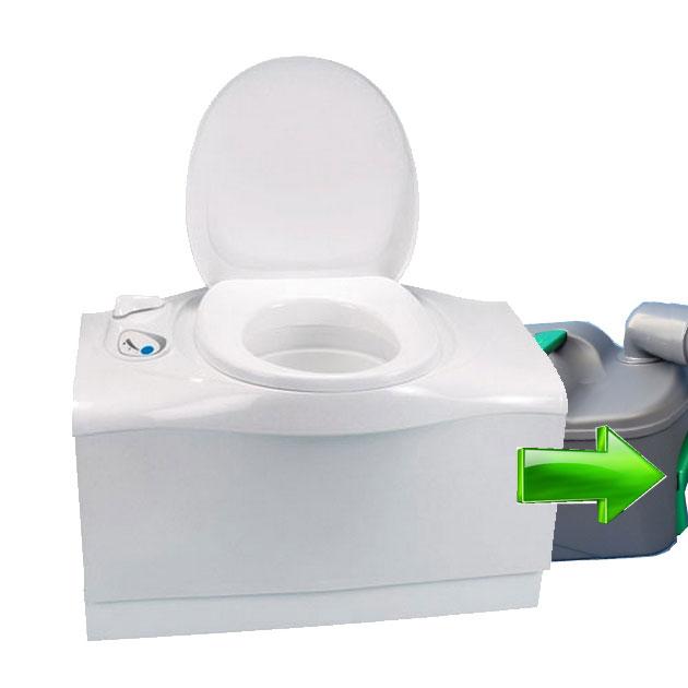 Caravansplus Thetford Cassette Toilet C402 C Flush Tank