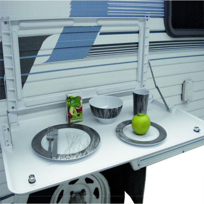 Coast Rv Wall Mounted Picnic Table With Backing Plate