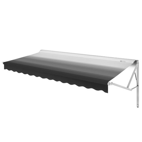 Caravansplus Dometic Power Awning 14ft Granite Fabric On Roller