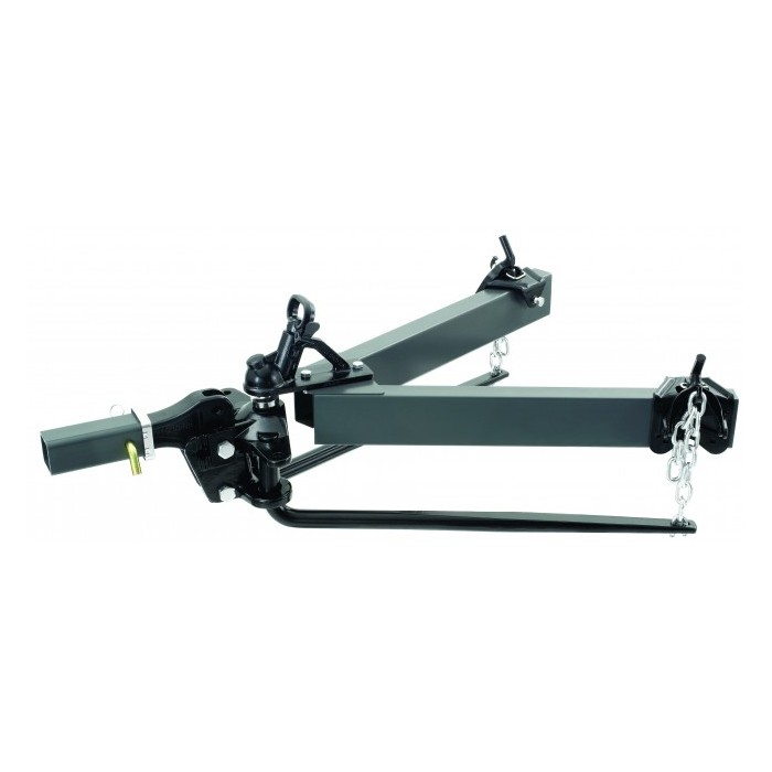 Pro Series Standard Hitch - 365kg (800lb) Ball Load - 30inch Bars - With Shank