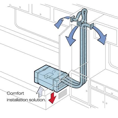 Caravansplus Truma Saphir Comfort Ducted Air Conditioner