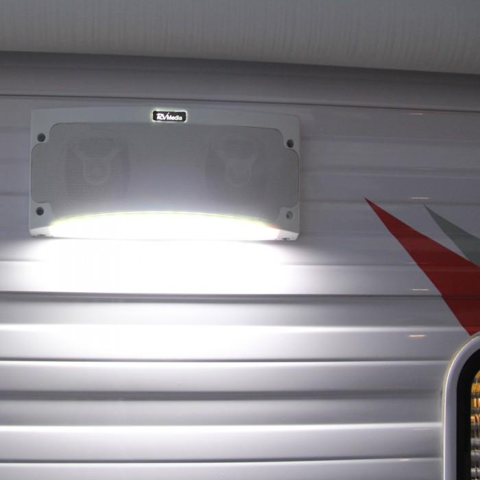 Caravansplus  Rv Media Outdoor Bluetooth Speaker  U0026 Led