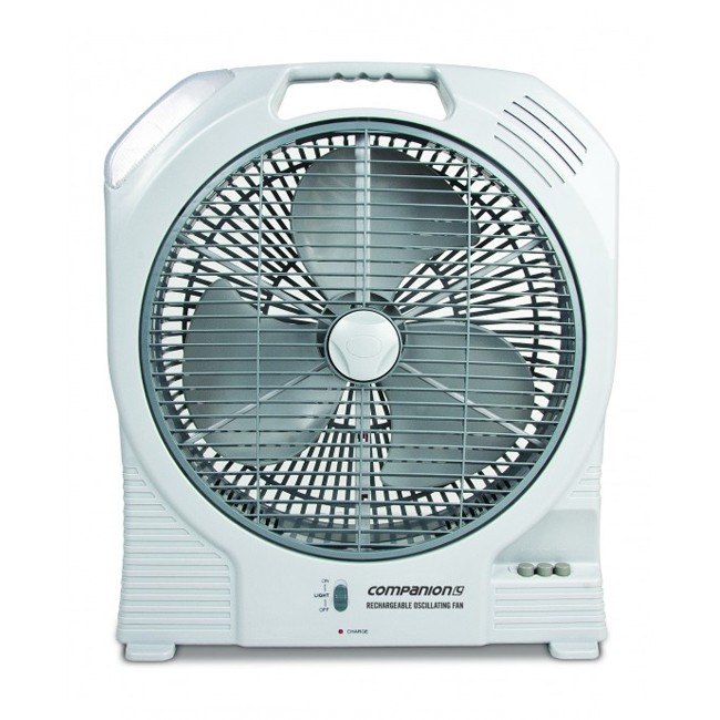 Companion Rechargeable Oscillating Fan