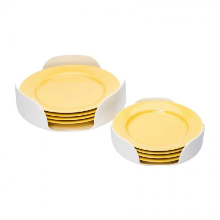 Rv Kitchen Supplies: Camco Stack-A-Plate - White