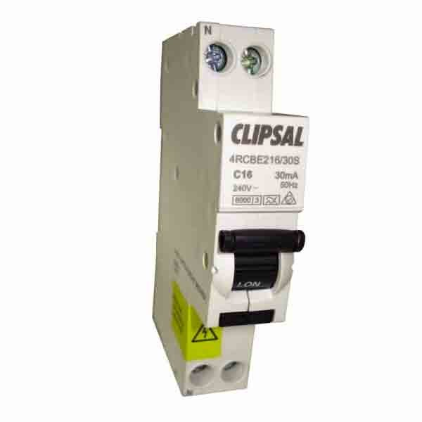 Caravansplus Clipsal Circuit Breaker Double Pole With Earth