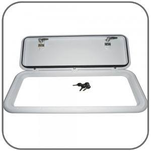CaravansPlus M500-150 Coast Access Door #6 Suits hole 228 x 593mm White  sc 1 st  CaravansPlus & CaravansPlus: M500-150: Coast Access Door #6 Suits hole 228 x 593mm ...