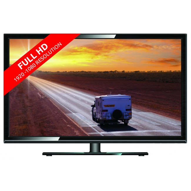 rv media 32 inch led hd tv dvd pvr combo 12v 240v full 1080p caravan 12v tvs dvds. Black Bedroom Furniture Sets. Home Design Ideas