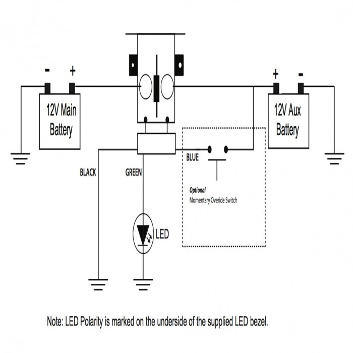 Dual Battery Isolator Wiring Diagram:  Switches 6,Design