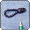 Shock Cord Loop 70mm, Each