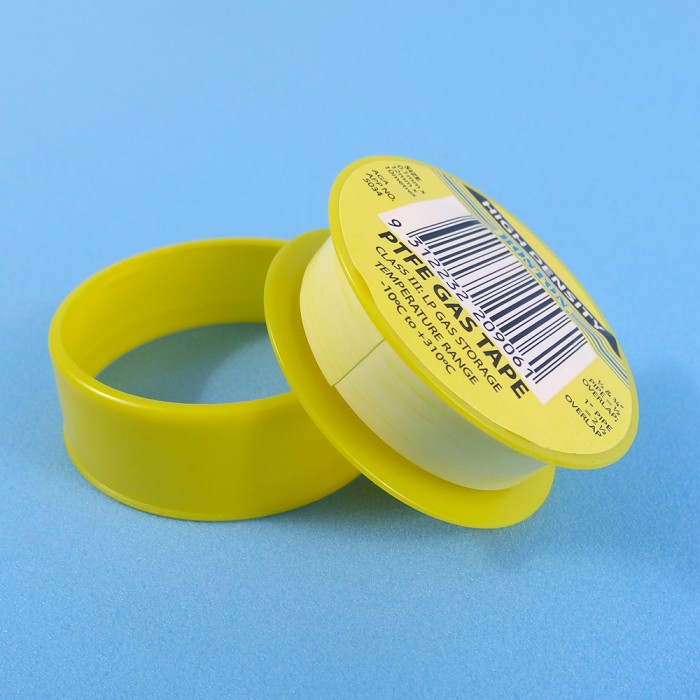 Yellow Gas Thread Seal Tape 10m Roll