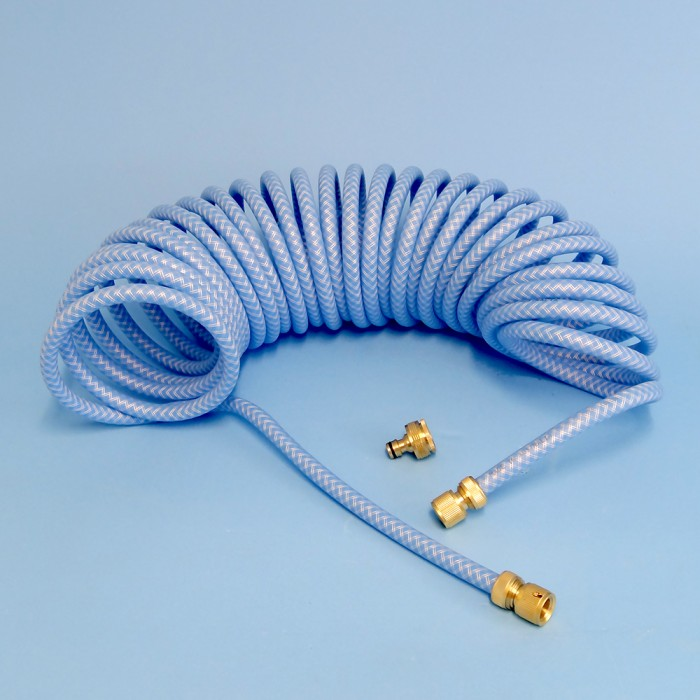 Drinking Water Hose, Curly Coil Hose 10m & Bag