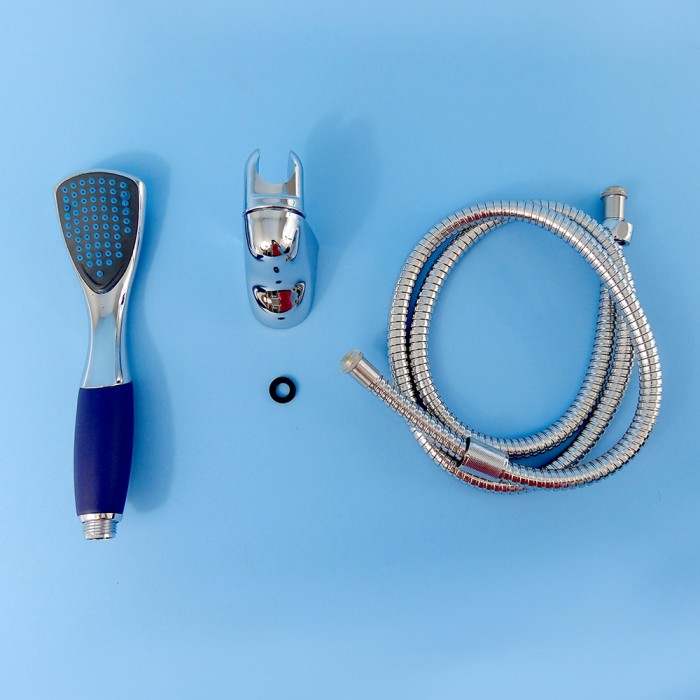 Jayco Hand Held Shower Kit with Hose - Rose & Bracket