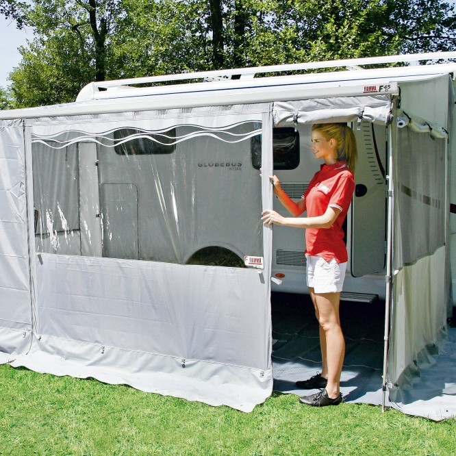 Fiamma Privacy Room 450 Large, 4.5m long, 2.5m-2.8m high, suit F45 i L, F45 Ti L, F45 S