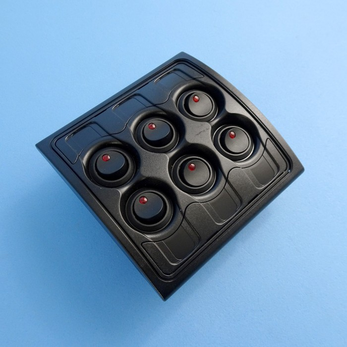 BEP Control Panel, 6 Way, 12 Volt