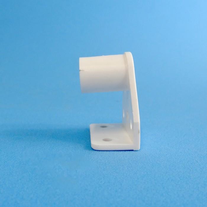 Caravansplus curtain rod holder muslin bracket white curtain