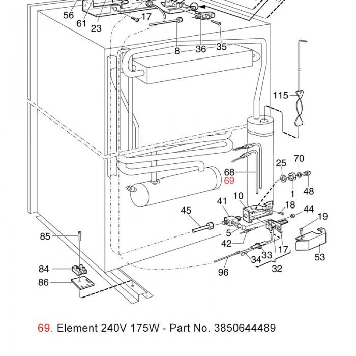 3 way fridge wiring diagram  | 700 x 700