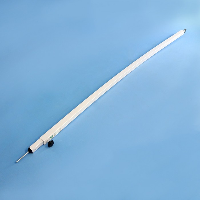 Supex Curved Awning Tension Roof Rafter White Aluminium