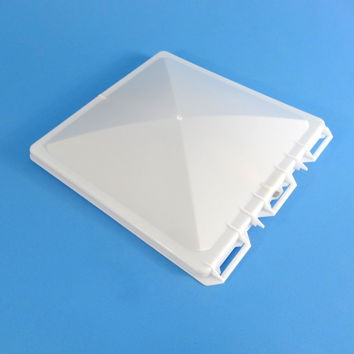 Replacement Lid 335x350mm, suit JENSEN MK2 Roof Vent, White
