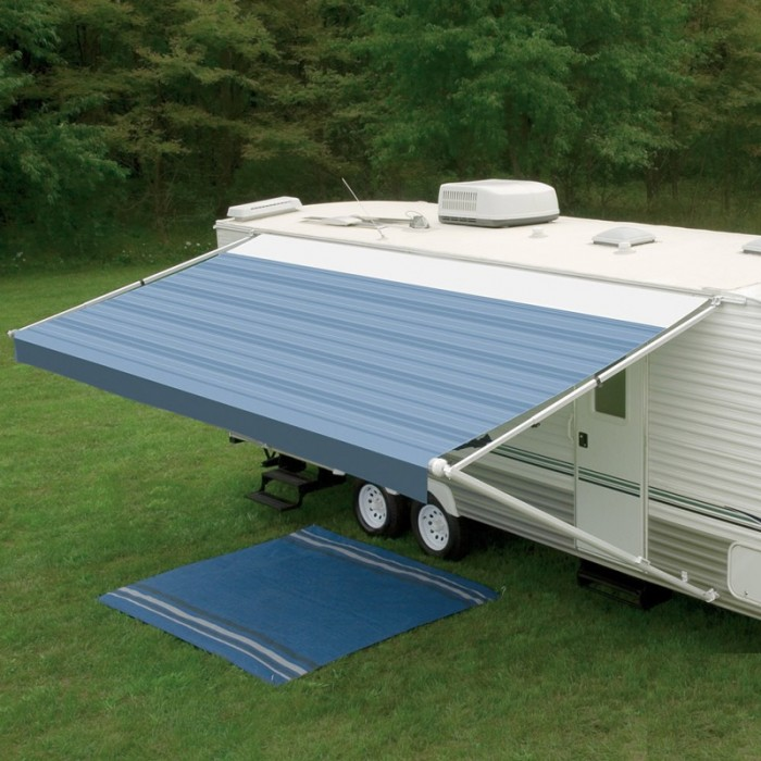 Dometic 8300 Awning 13ft - Blue - Fabric On Roll (No Arms)