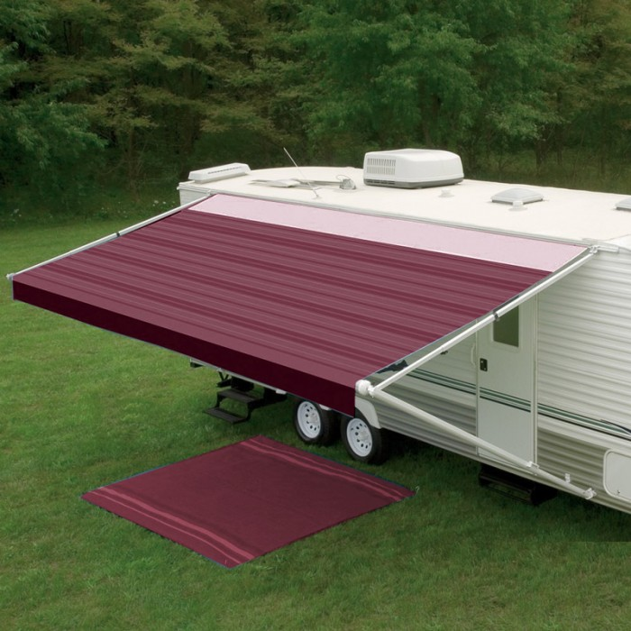Dometic 8300 Awning 13ft - Cranberry - Fabric On Roll (No Arms)