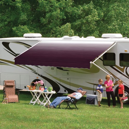 Caravansplus Dometic 8500 Awning 14ft Maroon Fabric