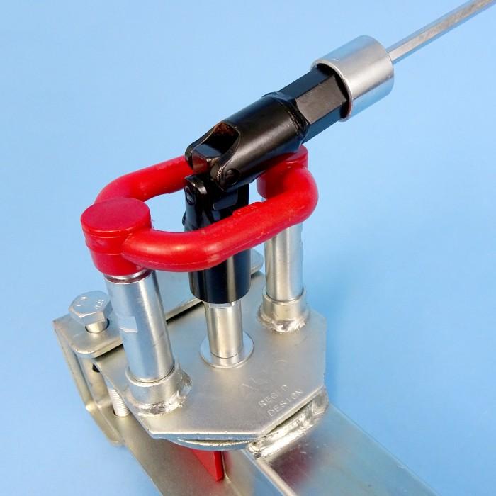 ALKO Drop Down Adjustable Leg - 420mm-590mm Vertical