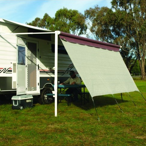 CAMEC Privacy Screen Suit All Awnings With Inbuilt Track