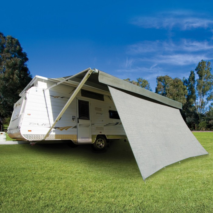 CGear Privacy Screen 4270mm x 1800mm - Suit 15ft Awning - 90% Shade