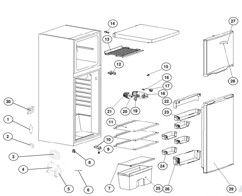 dometic air conditioner wiring diagrams