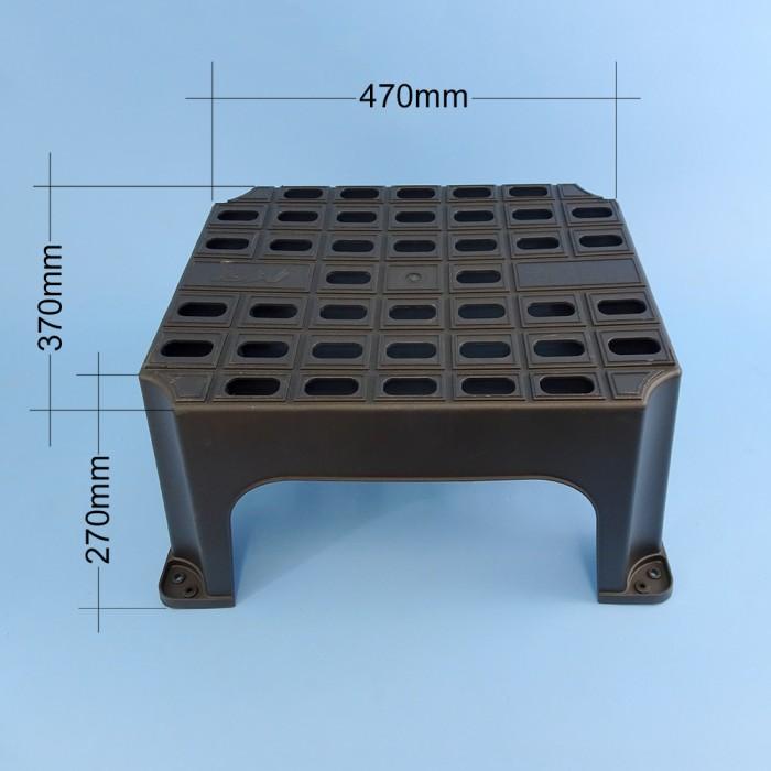 Hight and tread size M-0338 Milenco plastic step & CaravansPlus: Milenco Large Step - Plastic - 550 x 450 x 270mm high | islam-shia.org