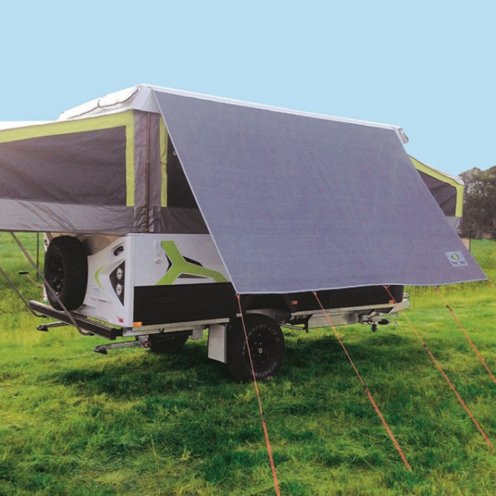 Coast Camper Sun Screen 2220mm x 2050mm, 86% Shade, Pegs & Ropes