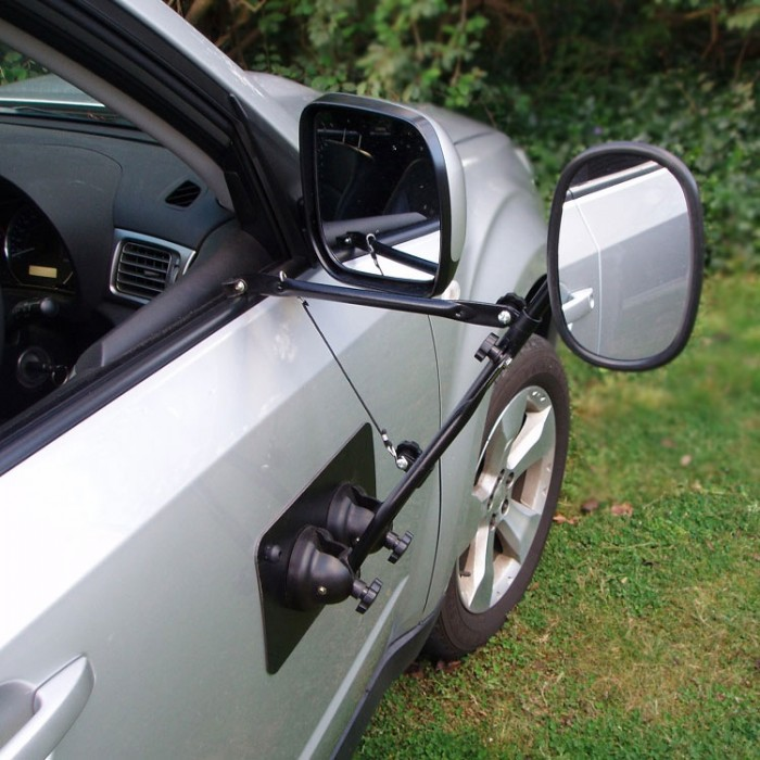 ORA Enzo Magnetic Towing Mirror - Door Mounted - Single