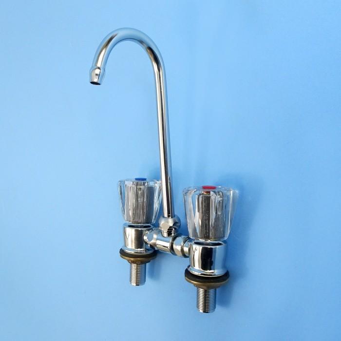 Fold Down Sink/Vanity Tap Set.