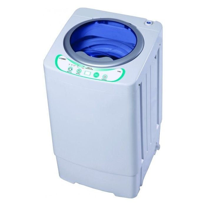 Camec 240v Compact RV Washing Machine - 3kg Capacity