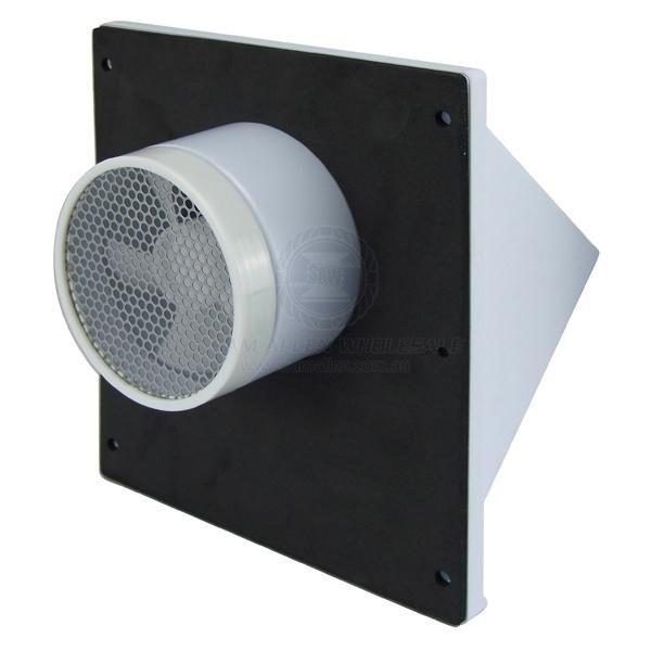 Caravansplus Solar Powered Wall Vent Fan White