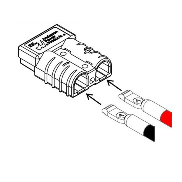 anderson plug wiring instructions