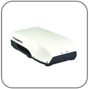 Dometic Harrier Inverter V2 Air Conditioner - 3 1kW Cool / 2 8kW Heat -  280mm High - 45kg