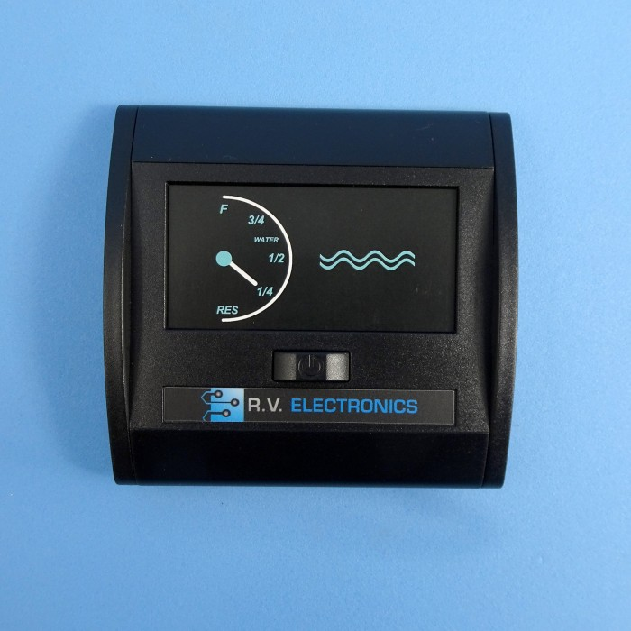 RV Electronics LCD Single Water Tank Level Indicator