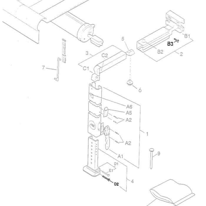 Wiring Diagram Likewise Dometic Power Awning Parts Diagram