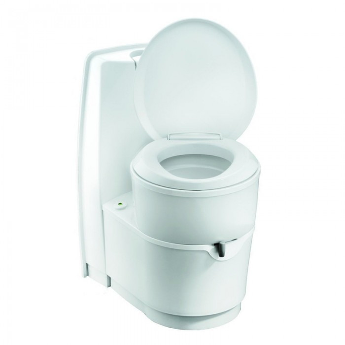 Thetford Cassette Toilet C224 CW - Swivel Seat / Flush Tank / Rear Entry