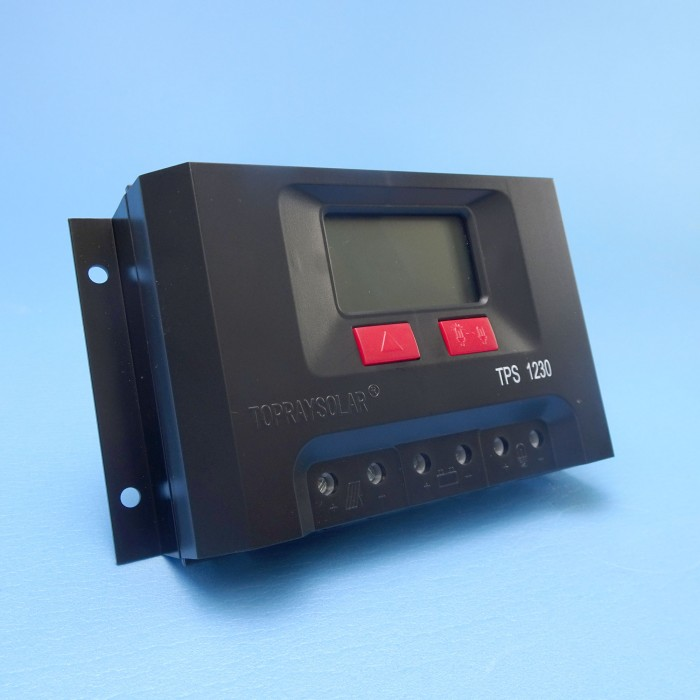 PWM Solar Regulator With LDC Display - 12V/30A