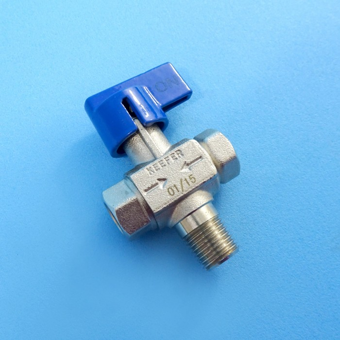 Manual Changeover Valve, f-IF-1/4, m-NPT-1/4