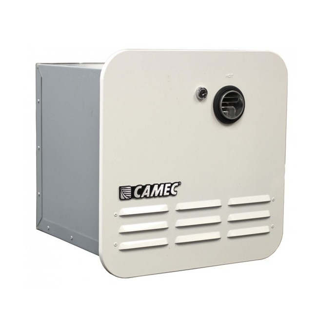 Caravansplus Camec Instant Gas Hot Water Heater White