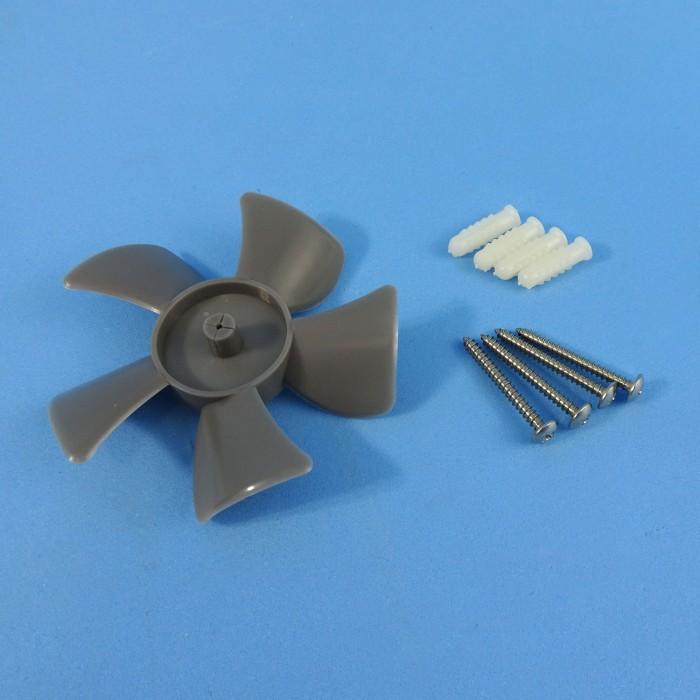 110mm 12v Fan : Caravansplus solar powered wall vent fan black